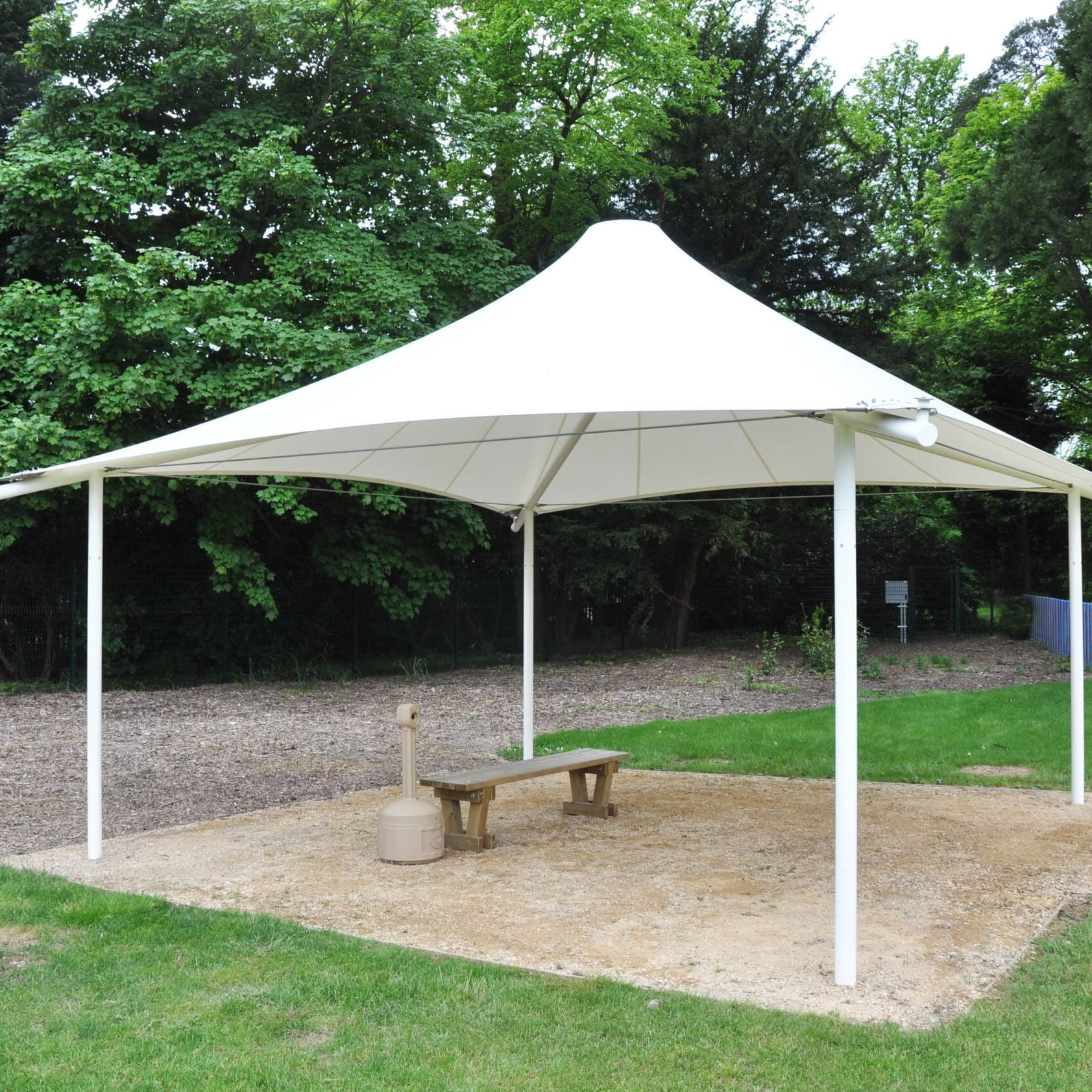 Fontwell Tensile Fabric Conic Canopy