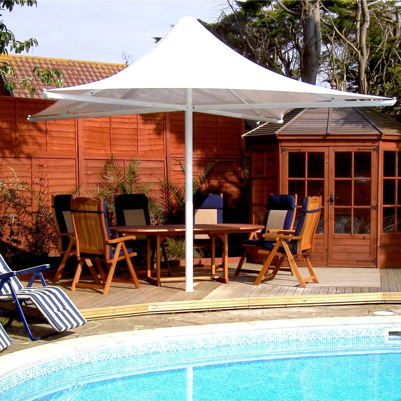 Goodwood Tensile Fabric Square Conic Canopy