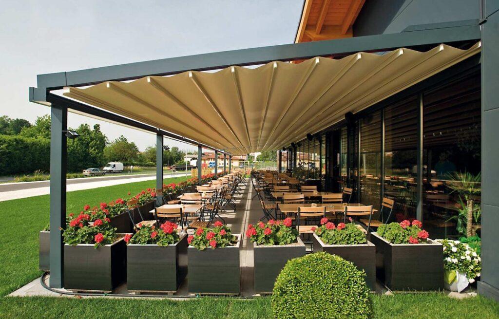 Mito Retractable Roof Pergola