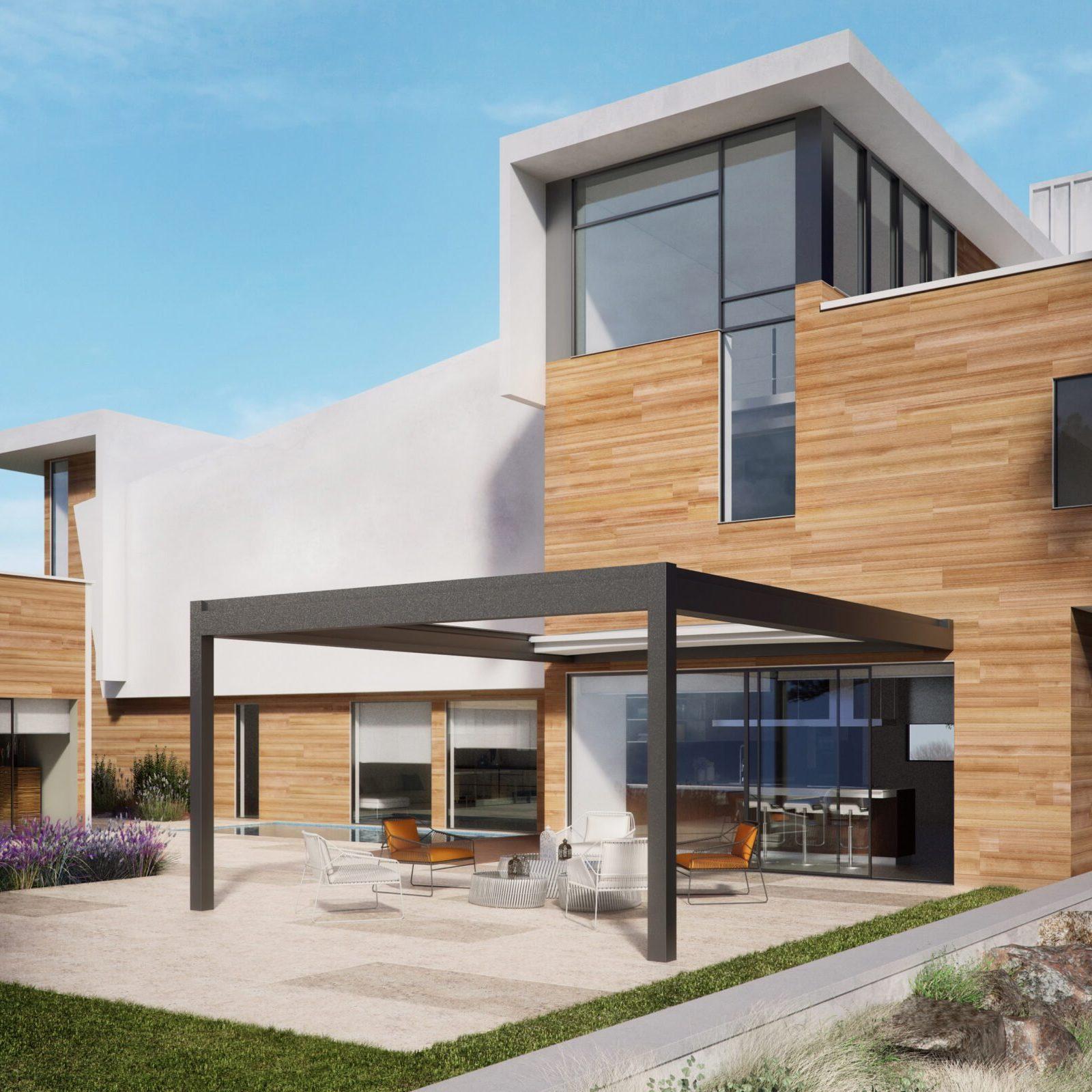 Nomo Retractable Roof Structure