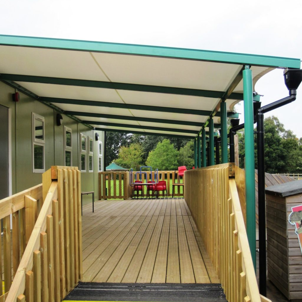 Sandhurst Tensile Fabric Lean-To Canopy