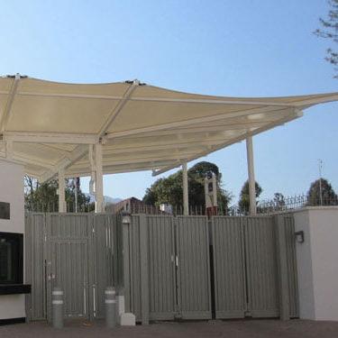 Falcon Tensile Fabric Entrance Canopy