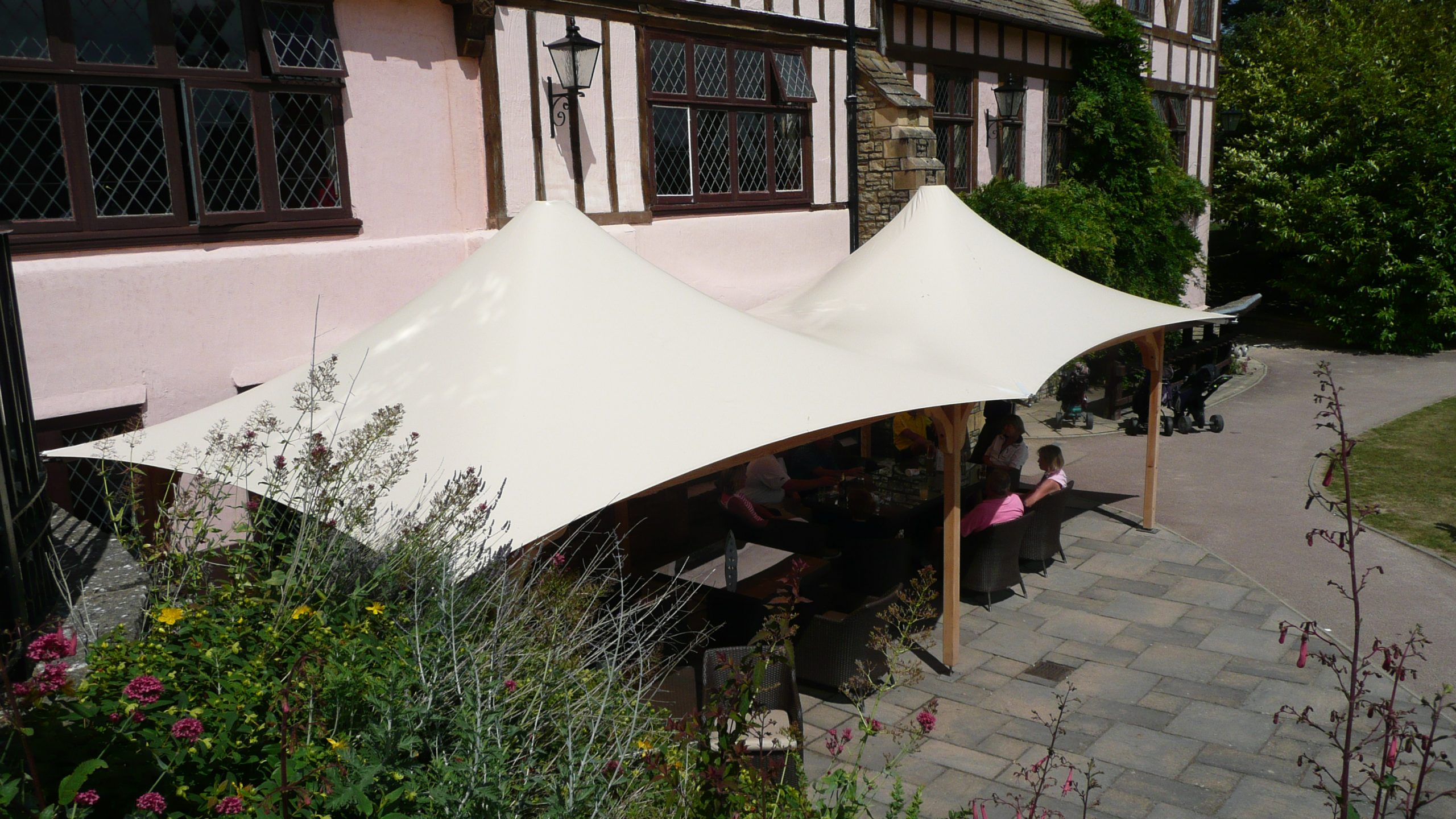 Amberley Tensile Fabric Conic Canopy
