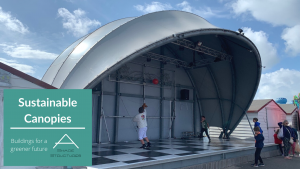 Sustainability of Tensile Fabric Structures
