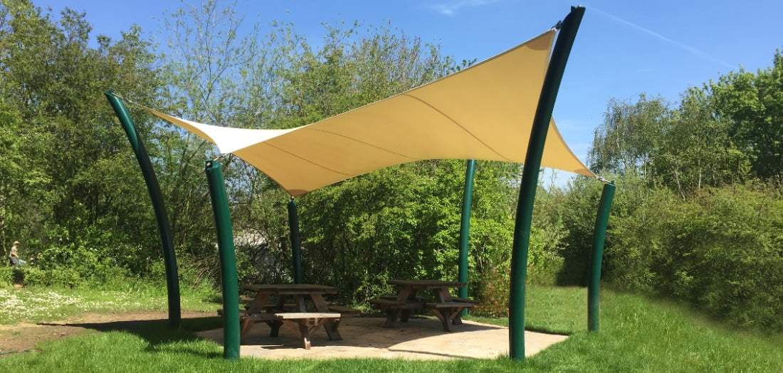 Chelsea Tensile Fabric Structure